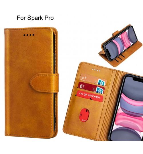 Spark Pro Case Premium Leather ID Wallet Case