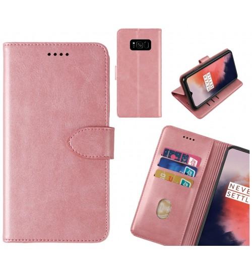Galaxy S8 plus Case Premium Leather ID Wallet Case
