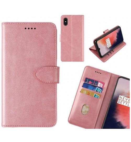 iPhone X Case Premium Leather ID Wallet Case