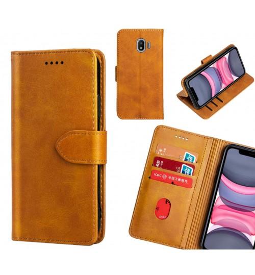 Galaxy J2 Pro Case Premium Leather ID Wallet Case