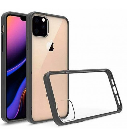 iPhone 11 case bumper clear back cover