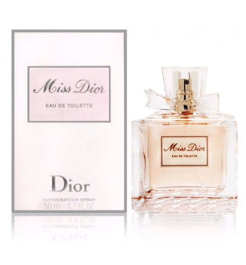 Miss Dior Eau De Parfum Spray 50ml  with DFS Receipt