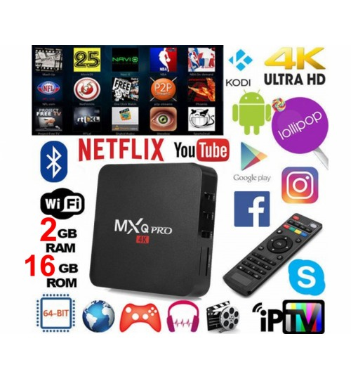 Smart TV Box 2GB+16GB WIFI Android