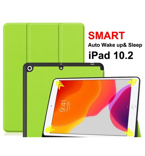 iPad 10.2 Case smart Leather Cover
