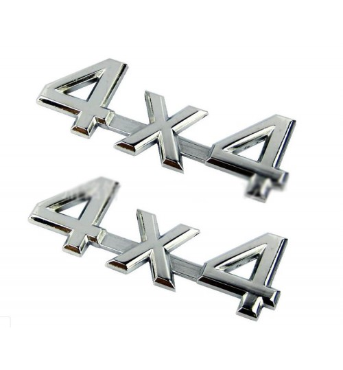 4X4 Four-Wheel Drive Logo Sticker