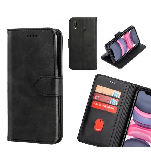 Huawei P20 lite Case Premium Leather ID Wallet Case