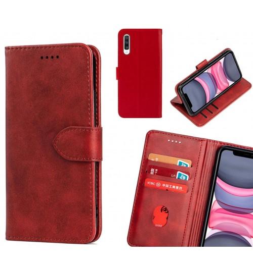 Samsung Galaxy A70 Case Premium Leather ID Wallet Case