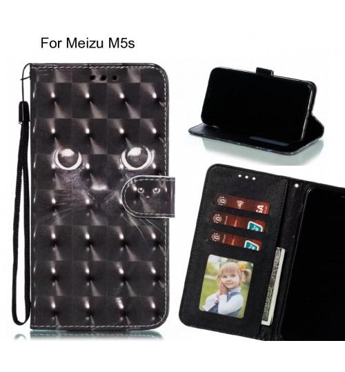 Meizu M5s Case Leather Wallet Case 3D Pattern Printed
