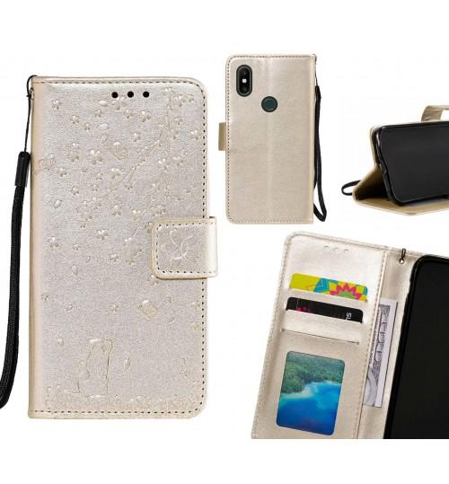 Xiaomi Mi Mix 2S Case Embossed Wallet Leather Case
