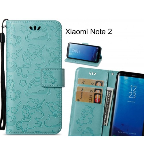 Xiaomi Note 2 Case Wallet Leather Unicon Case