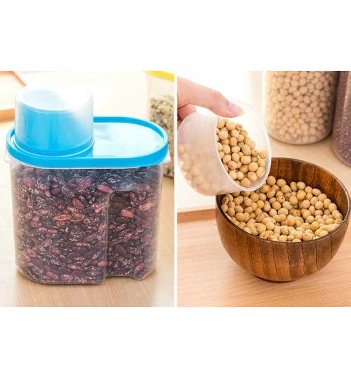 Food Cereal Grain Bean Rice Storage Box
