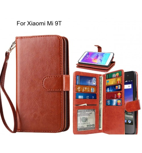 Xiaomi Mi 9T Case Multifunction wallet leather case