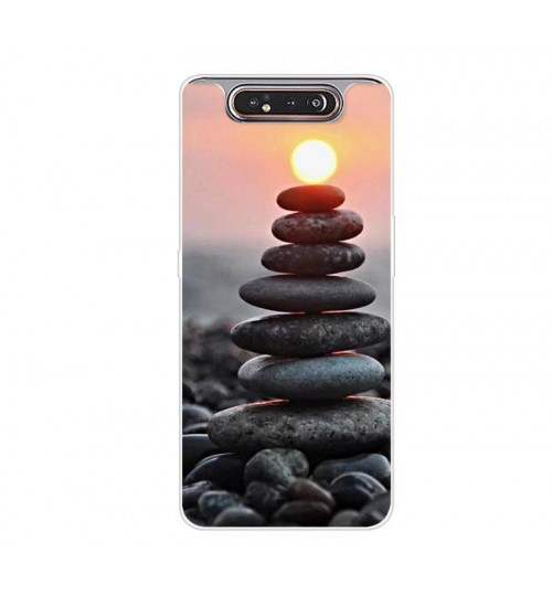 Samsung Galaxy A80 Case Soft TPU printed case
