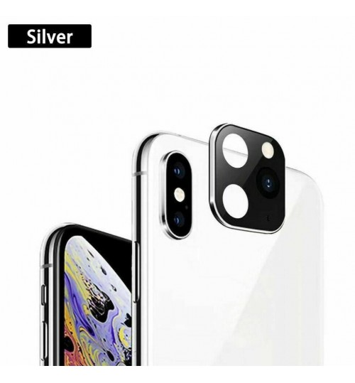 iPhone X XS Camera Cover Change to iPhone 11 Pro Metal Lens Sticker