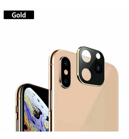 iPhone XS Max Camera Cover Change to iPhone 11 Pro Max Metal Lens Sticker