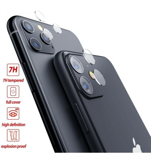 iPhone 11 camera lens protector tempered glass 9H hardness HD