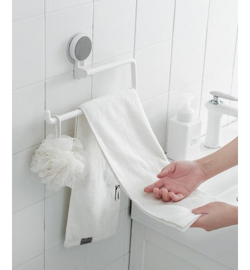 Traceless Towel Rack Shelf