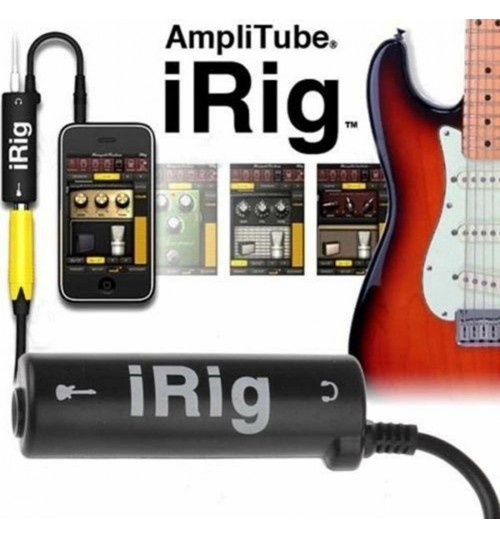 iRig iphone Guitar Effects Interface Adapter Converter Link