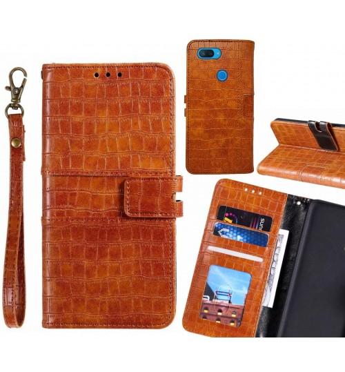 XiaoMi Mi 8 lite case croco wallet Leather case