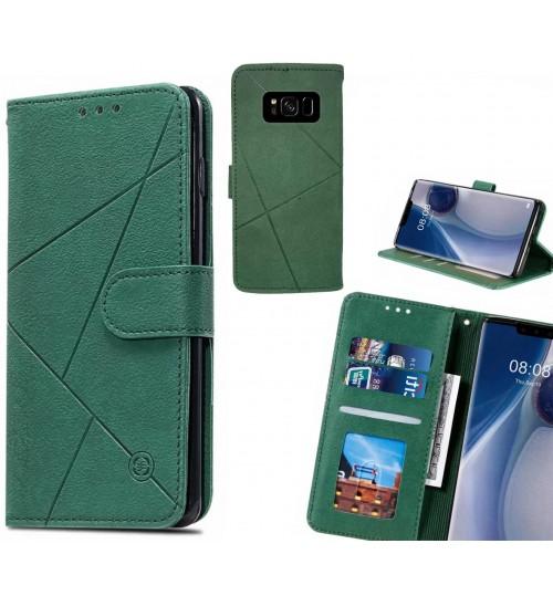 Galaxy S8 Case Fine Leather Wallet Case