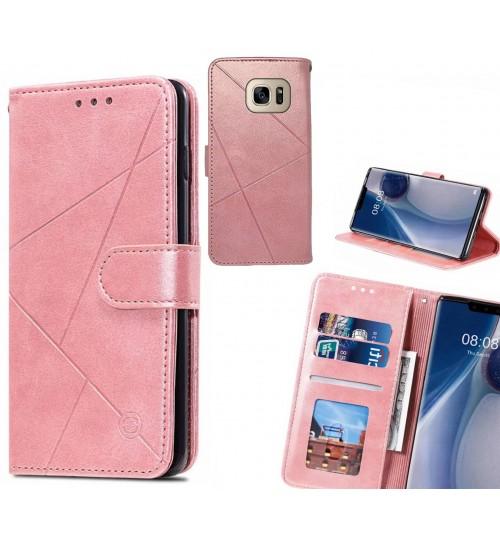 Galaxy S7 Case Fine Leather Wallet Case