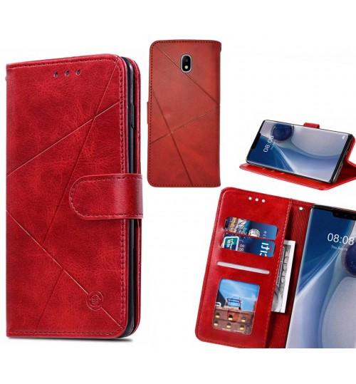 J7 PRO 2017 Case Fine Leather Wallet Case
