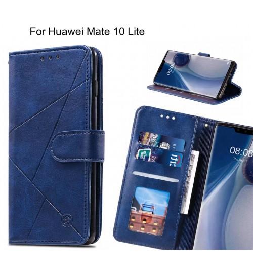 Huawei Mate 10 Lite Case Fine Leather Wallet Case