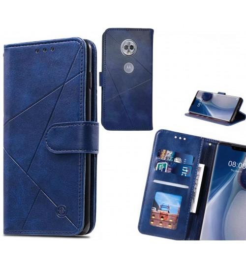 MOTO G6 PLAY Case Fine Leather Wallet Case