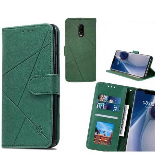 OnePlus 6T Case Fine Leather Wallet Case