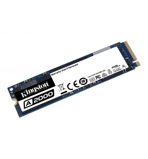 Kingston A2000 1TB M.2 2280 NVme SSD R/W 2200 MB/s /2000 MB/s