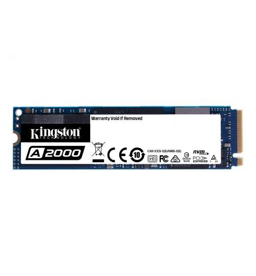 Kingston 250GB A2000 NVMe PCIe M.2 Internal SSDR/W 2000/1100 MB/s