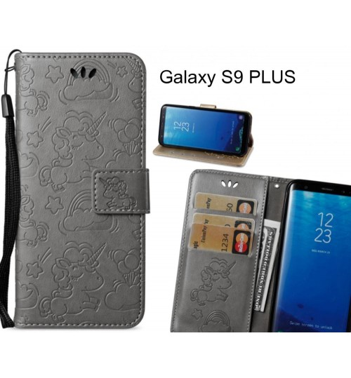 Galaxy S9 PLUS Case Wallet Leather Unicon Case