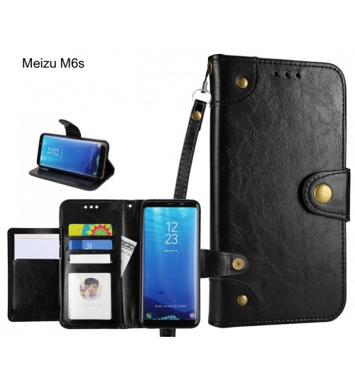 Meizu M6s  case executive multi card wallet leather case