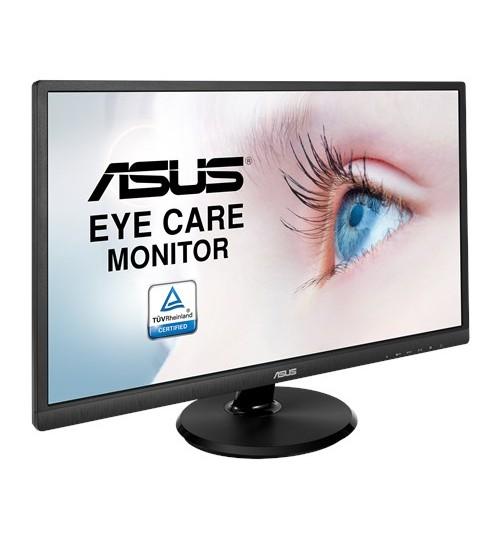 ASUS VA249HE 23.8 WIDE VA 1920X1080 16:9 3000:1 5MS HDMI VGA PORTS 3 YEAR PIXEL PERFECT MONITOR