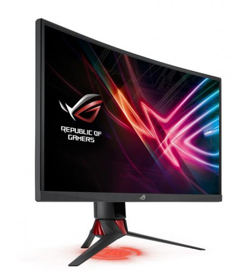 ASUS XG27VQ 27 WIDE LED CURVED 1920X1080 FHD 16:9 3000:1 4MS DVI-D HDMI DISPLAYPORT 3 YEAR PIXEL PERFECT MONITOR
