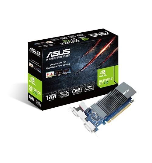 ASUS GT710-SL-1GD5-BRK GT710 1GB GDDR5 PCI-E 2.0 D-SUB DVI-D HDMI PORTS