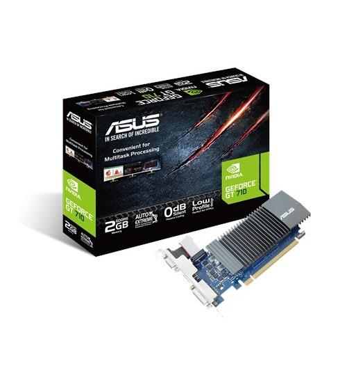 ASUS GT710-SL-2GD5-BRK GT710 2GB GDDR5 PCI-E 2.0 D-SUB DVI-D HDMI PORTS