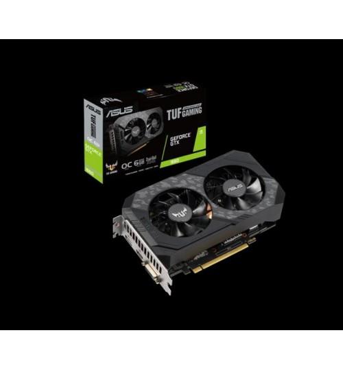 ASUS TUF-GTX1660-O6G-GAMING TUF SERIES GTX1660 OVERCLOCKED 6GB GDDR5 PCI-E3.0 DVI-D HDMI DISPLAY PORT