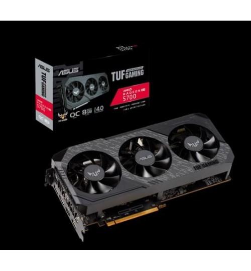 ASUS TUF 3-RX5700-O8G-GAMING TUF AMD RADEON RX 5700 OVERCLOCKED 8GB GDDR6 PCI-E4.0 HDMI DISPLAY PORT