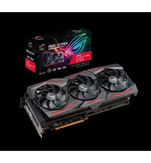 ASUS ROG-STRIX-RX5700-O8G-GAMING STRIX AMD RADEON RX 5700 OVERCLOCKED 8GB GDDR6 PCI-E4.0 HDMI DISPLAY PORT