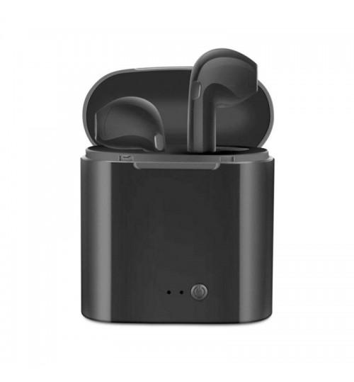 LASER AIRBUD WIRELESS EARPHONES IN BLACK