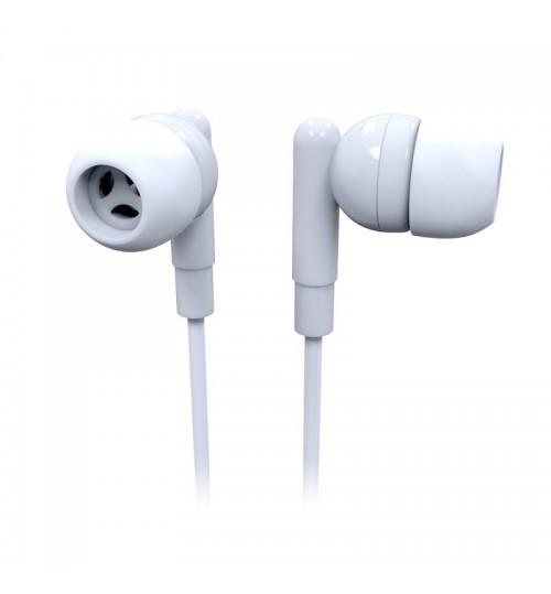 LASER EARBUD HEADPHONE - WHITE