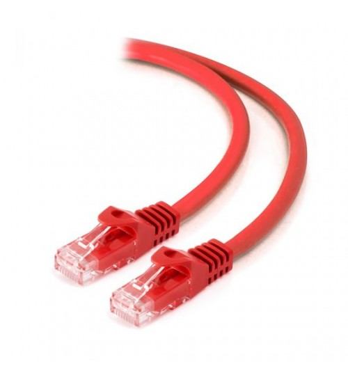 ALOGIC 1M CAT6 NETWORK CABLE RED