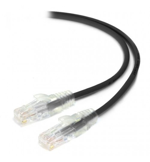 ALOGIC 5M CAT6 ULTRA SLIM NETWORK CABLE BLACK