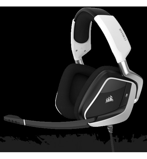 CORSAIR GAMING VOID PRO RGB USB PREMIUM GAMING HEADSET WITH DOLBY HEADPHONE 7.1 - WHITE