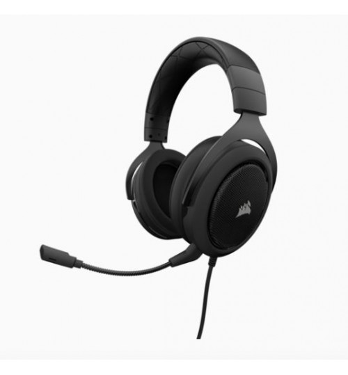 CORSAIR HS60 SURROUND GAMING HEADSET - BLACK