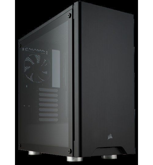 CORSAIR CARBIDE SERIES 275R TEMPERED GLASS MID-TOWER GAMING CASE - BLACK