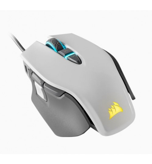 CORSAIR M65 RGB ELITE TUNABLE FPS 18000 DPI OPTICAL GAMING MOUSE - WHITE