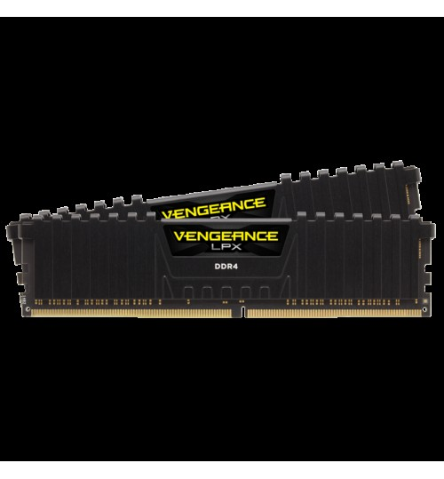 CORSAIR CMK16GX4M2A2400C16 DDR4 2400MHZ 16GB 2 X 288 DIMM UNBUFFERED VENGEANCE LPX BLACK HEAT SPREADER 1.20V XMP 2.0