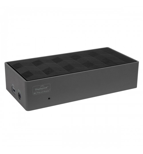 TARGUS DOCK190 USB-C DUAL VIDEO 4K DOCKING STATION WITH 100W LAPTOP CHARGING WITH HYBRID USB3 AND UNIVERSAL POWER.